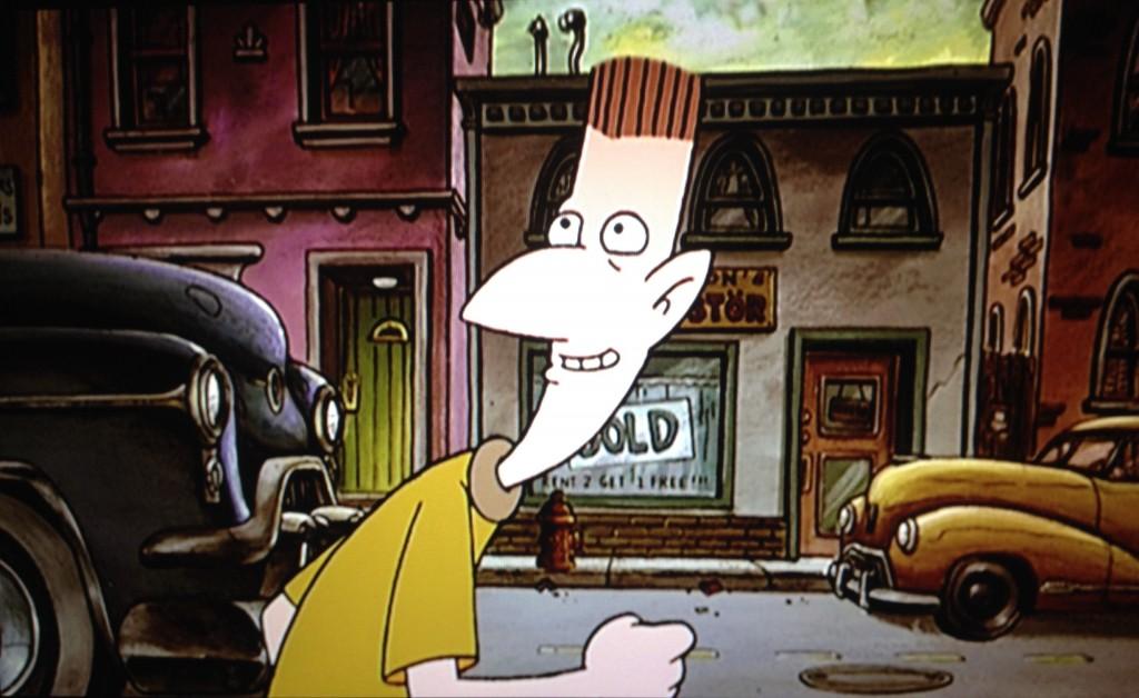 Personaje: Stinky Peterson Serie: HEY! ARNOLD Película: HEY! ARNOLD LA PELÍCULA