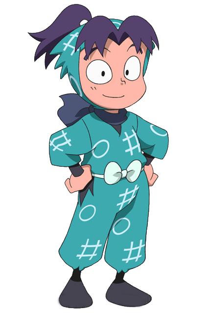 Personaje: Kirimaru Settsuno, Serie: NINJA RANTARO (NINJA BOY-NINTAMA RANTARO - 忍たま乱太郎)