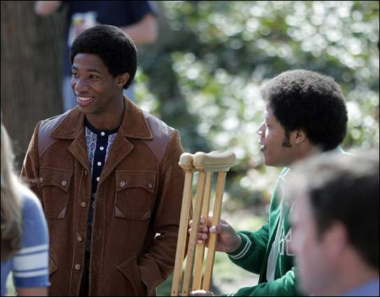 Actor: Arlen Escarpeta,Personaje: Reggie Oliver, Película: WE ARE MARSHALL
