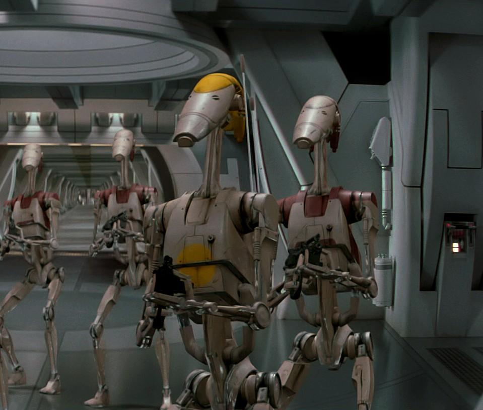 Personaje: Battle Droids, Película: STAR WARS EPISODE I